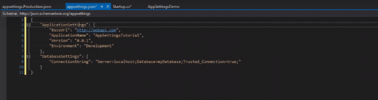appsetting.production in asp.net core
