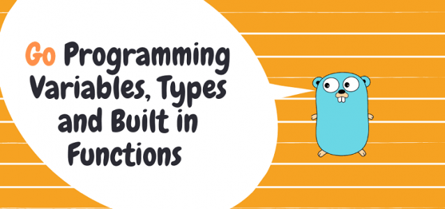 Go Programming Variables, Data Types and Built-in Functions